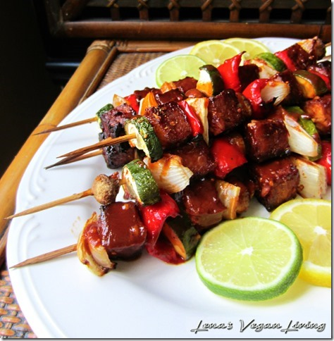 Lena's Vegan Living Kebabs recipe