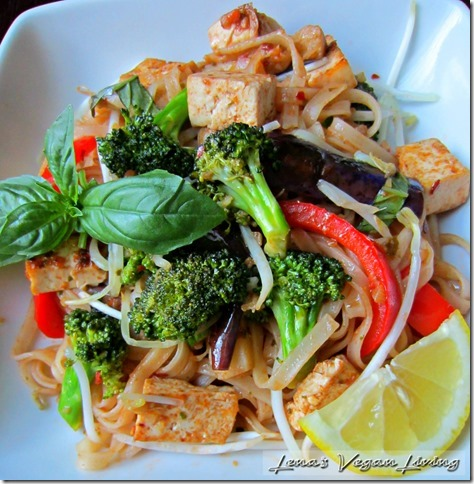 Lena's Vegan Living Pad Thai recipe